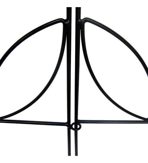 MTB Decorative Garden Border Fence Panel 18 in x 18 in, Pack of 5, Totally 7.5 ft, Decorative Wire Fencing Garden Border Edging Garden Fence Animal Barrier