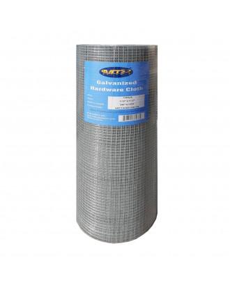MTB Galvanized Hardware Cloth 36 Inch x 100 Foot -1/2 Inch x 1/2 Inch 19GA