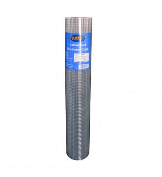 MTB Galvanized Hardware Cloth 48 in x 100 ft - 1/4 x1/4 inch Mesh 23GA