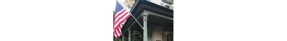Garden Flag Pole & Brackets