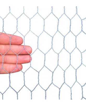 MTB Garden 20GA Galvanized Hexagonal Poultry Netting Chicken Wire 72 inches x 150 feet x 1 inch Mesh
