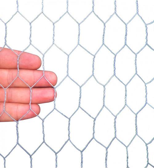 MTB Garden 20GA Galvanized Hexagonal Poultry Netting Chicken Wire 72 inches x 150 feet x 1 inch Mesh