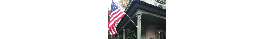 Garden Flag Pole & Brackets
